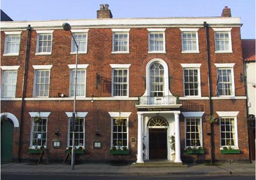 Beverley Arms Hotel Restaurant Menu